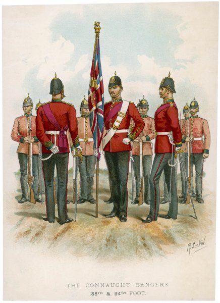 Connaught Rangers: 88th and 94th Foot