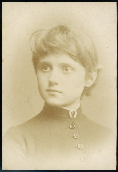 CONNIE GILCHRIST English actress as a young girl - she left the stage in the late 1880s to become Countess of Orkney