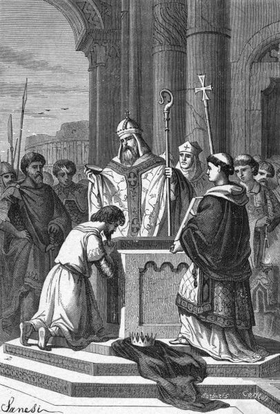 The Emperor Constantine is baptised a Christian Date: 337