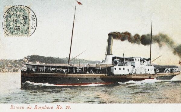Constantinople Ferryboat on the Bosphorus (No. 33)