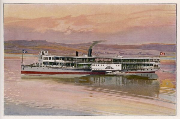 Thomas Cook's steamer 'Egypt' on the Nile