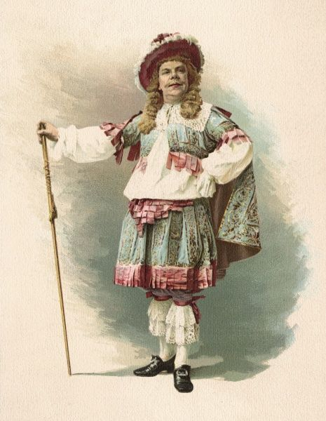 CONSTANT COQUELIN Aine (elder) French actor in Moliere's 'Les Precieuses Ridicules' Date: 1841 - 1909
