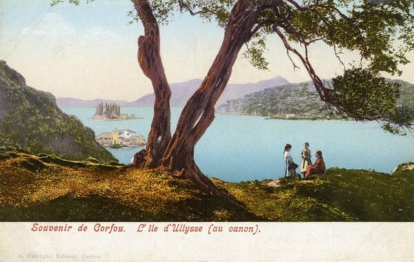 Corfu - Greece - Kanoni, 'The Island of Ulysses&#39