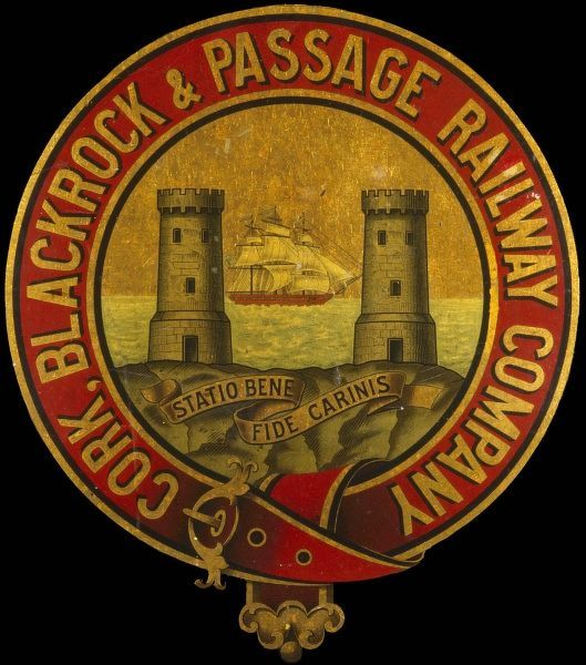 RAILWAY COMPANY The bold design of the Cork, Blackrock and Passage Railway Company
