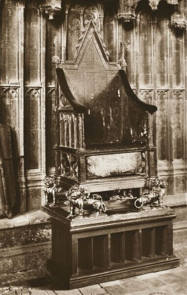 The Coronation Chair, Westminster Abbey, London