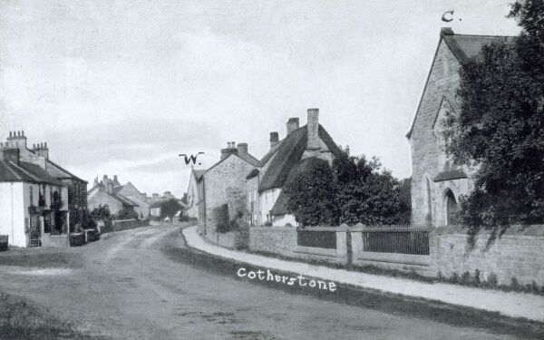 Cotherstone, Yorkshire - the main street Date: circa 1910s