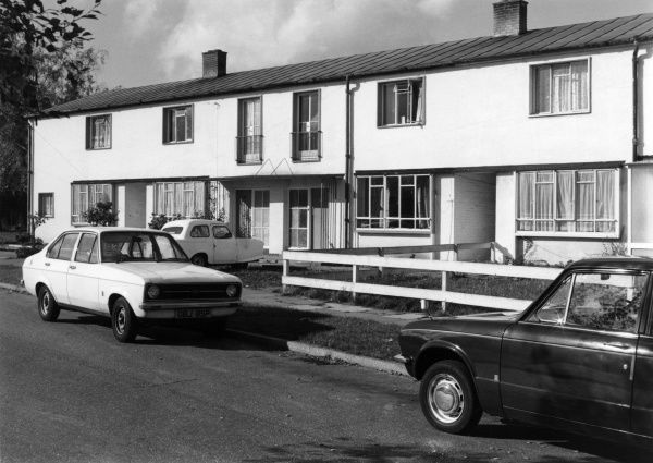Council houses, Britain. Date: 1960s