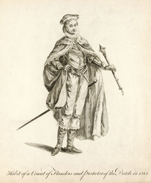 An unnamed Count of Flanders, protector of the Dutch