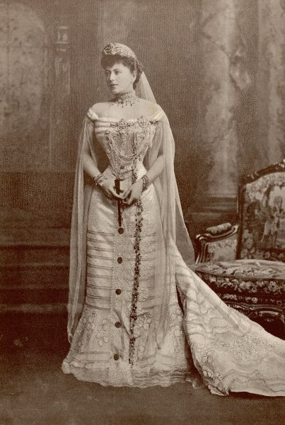 Sophia Nicholaievna, Countess de Torby, married morganatically to Grand Duke Mikhail of Russia in 1891