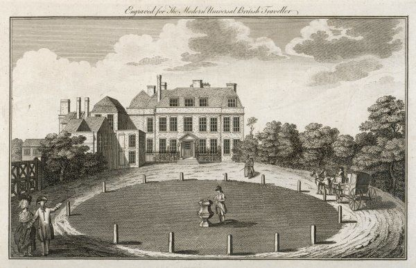 Admiral Keppel's house, near Bagshot, Surrey