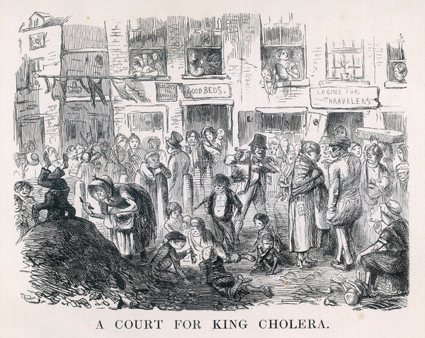 'A Court for King Cholera&#39