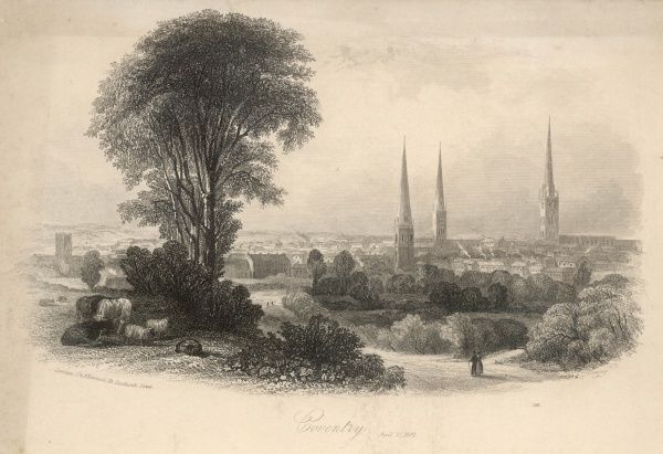 A general view of Coventry, Warwickshire