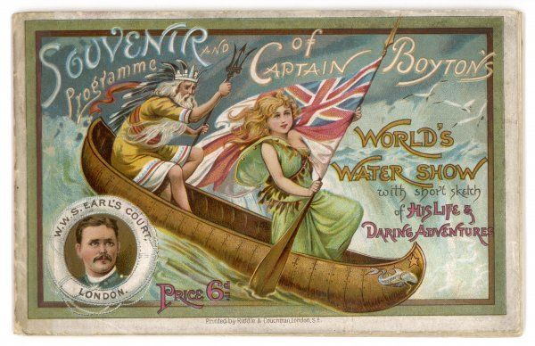A wild west show on water - the programme of Captain Boyton's World's Water Show at Earl's Court, London