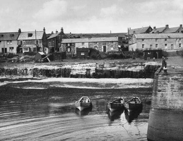 Craster, a small Northumberland village, famous for its home-cured kippers
