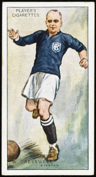 Warneford Cresswell, player for Everton