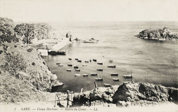 Creux Harbour on Sark, Channel Islands