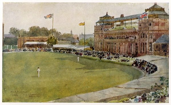The pavillion at Lord's