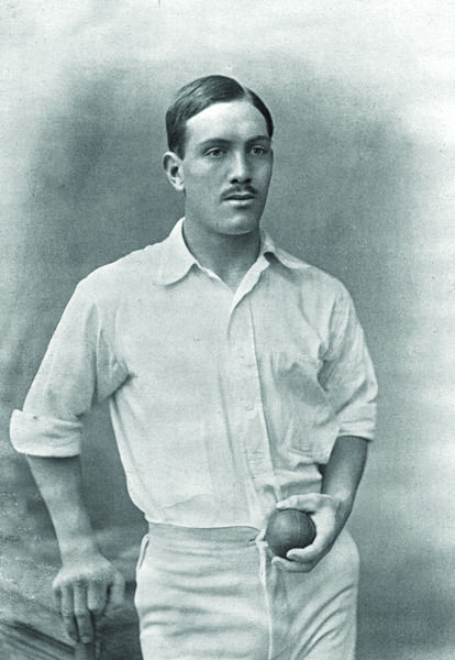 J.T. BROWN CRICKETER - YORKSHIRE