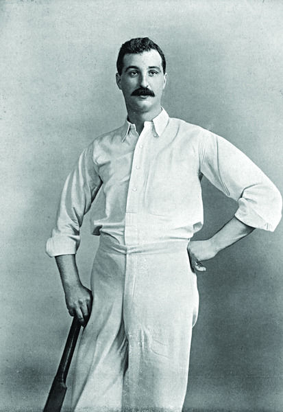 E.J. DIVER CRICKETER - SURREY AND WARWICKSHIRE