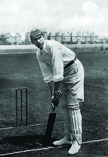 W. GUNN CRICKETER - NOTTINGHAMSHIRE