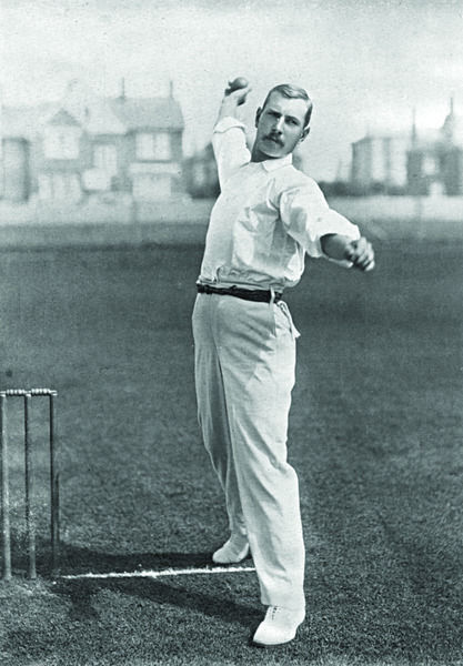 WILLIAM LOCKWOOD CRICKETER - SURREY & NOTTINGHAMSHIRE