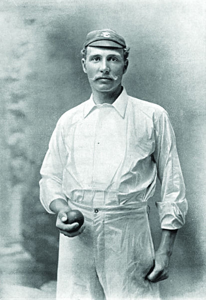 GEORGE LOHMANN CRICKETER - SURREY