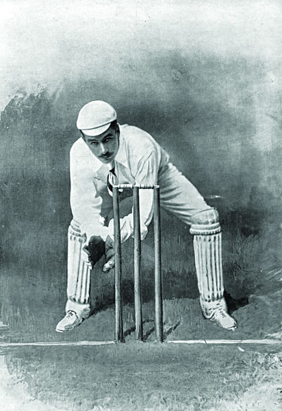 G. MACGREGOR CRICKETER - MIDDLESEX