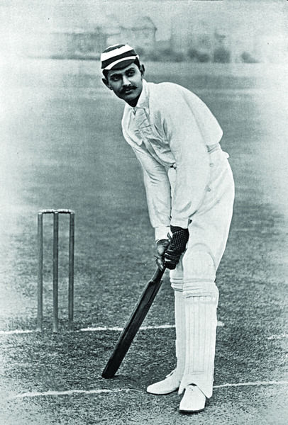 KUMAR SHRI RANJITSINHJI CRICKETER - SUSSEX