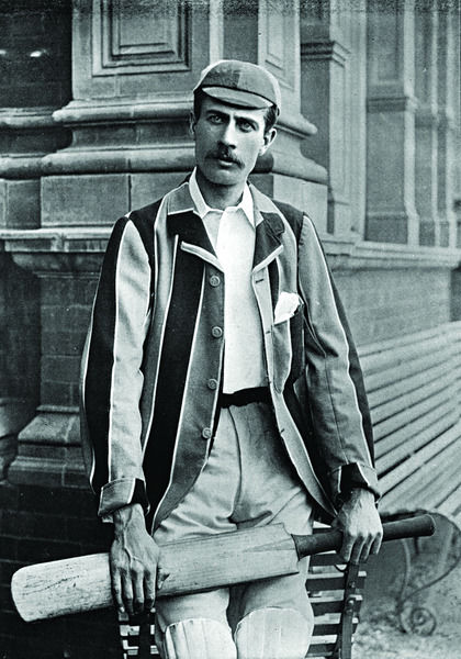 R. W. RICE CRICKETER - OXFORD UNIVERSITY