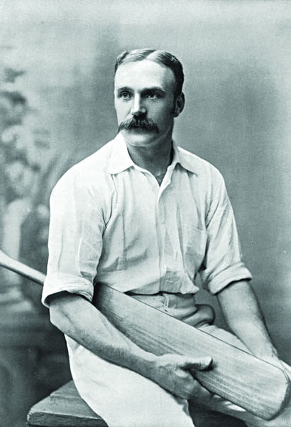 FRANK SUGG CRICKETER - YORKSHIRE, DERBYSHIRE AND LANCASHIRE
