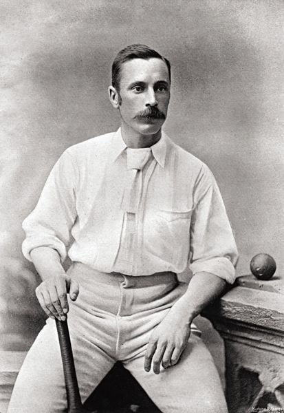 CHARLES WARDALL CRICKETER - SURREY AND YORKSHIRE