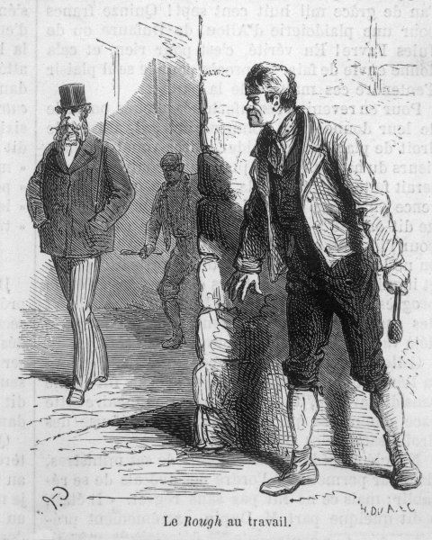 A London 'rough' & his accomplice stalk a victim