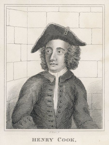 HENRY COOK: Debtor, petty thief, giver of threats of violence, foot-pad, highwayman, horse thief, shoemaker, hanged at Tyburn 6 December 1741
