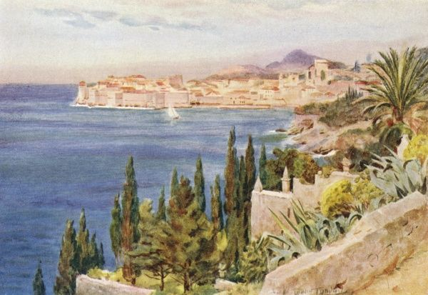 Dubrovnik: the bay Date: 1925