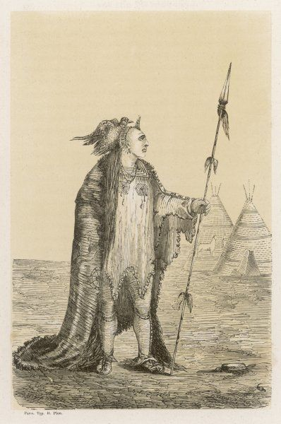 Chief of the Crow people