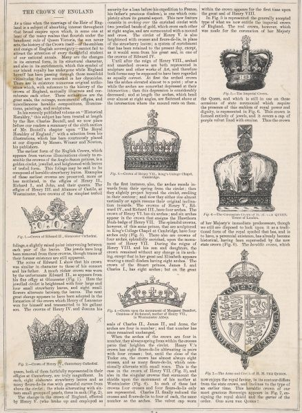 THE CROWNS OF ENGLAND Edward II, Henry VI, Henry VII, The Imperial Crown, The Coronation Crown