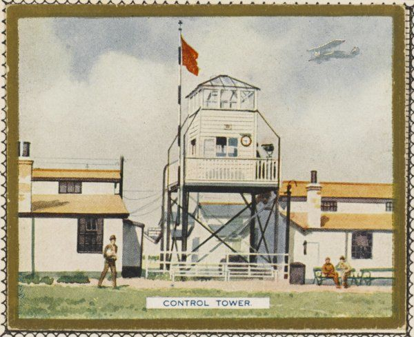 The Control Tower at Croydon Airport