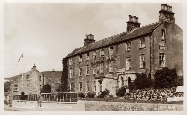 Cumbria - The Hillcrest Hotel, Alston Date: circa 1930s