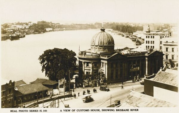 The Customs House (showing the Bribane River), Brisbane, Australia