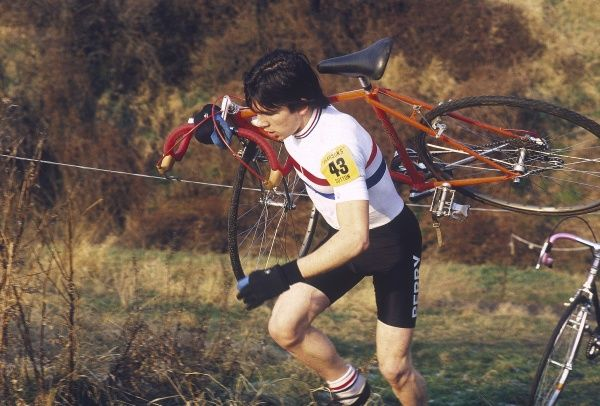 Cycle Cross, cross country cycle racing. Date: 1981