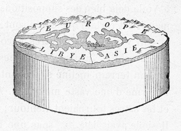 Anaximander's cylindrical Earth