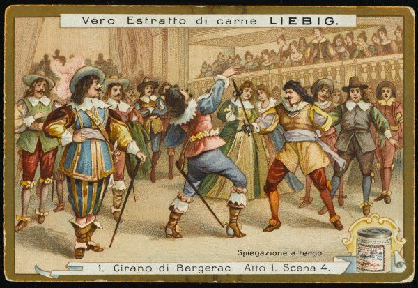 Act one, scene four The fight in the theatre