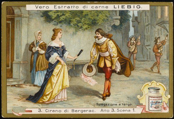 Act three, scene one The serenade - Christian and Roxane