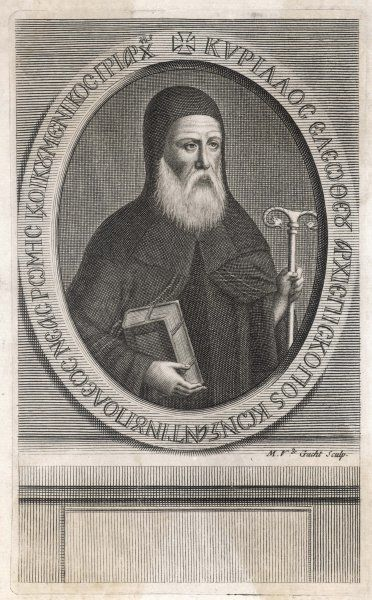CYRIL LUCARIS Greek patriarch of Istanbul