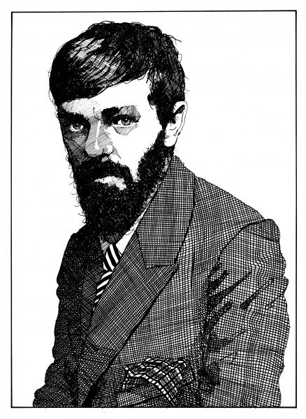 D H LAWRENCE English novelist As an older man