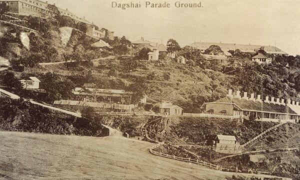 Dagshai Parade Ground - Built by the British as a sanatorium for TB patients in Himachal Pradesh State, Solan District. In 1920 there was a large-scale mutiny by Irish soldiers stationed at Dagsai, in support of the independence struggle in their homeland