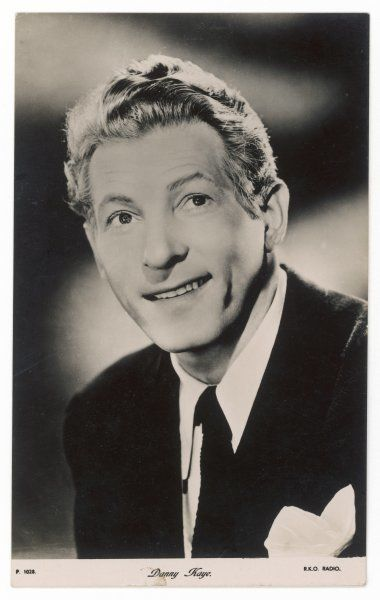 DANNY KAYE American entertainer of stage, screen and television Date: 1913