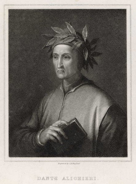 Dante Alighieri, Italian poet, best known for his long narrative poem, the Divine Comedy