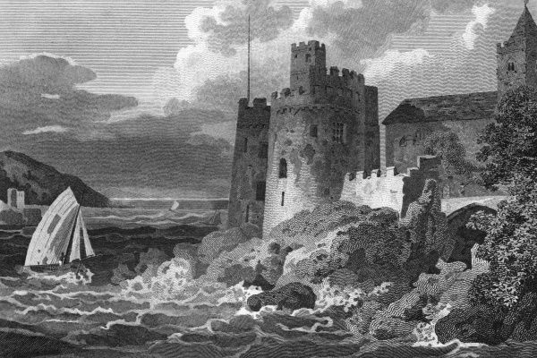 Dartmouth Castle, Devon. Date: 1807
