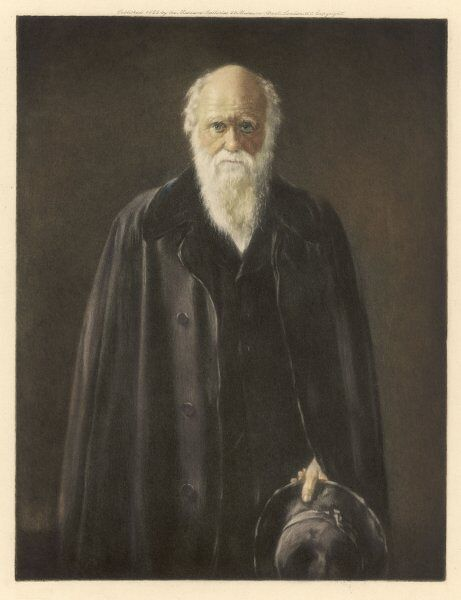 CHARLES DARWIN towards the end of his life